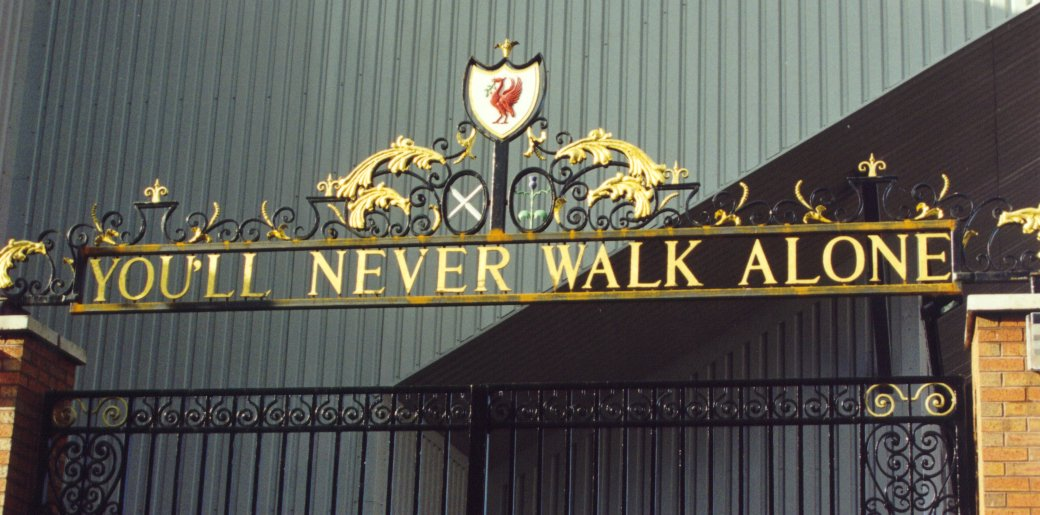 Liverpool Stadium Gates