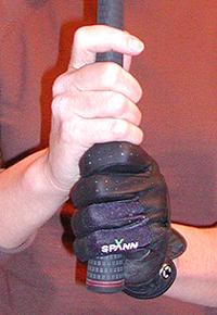baseball golf grip, all finger grip, 10 finger golf grip or palm grip