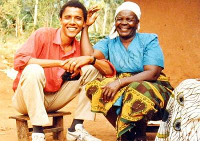Obamas dadima - paternal grandmother