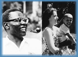 Obamas Mama and Papa - Ann Dunham and Barack Obama Snr