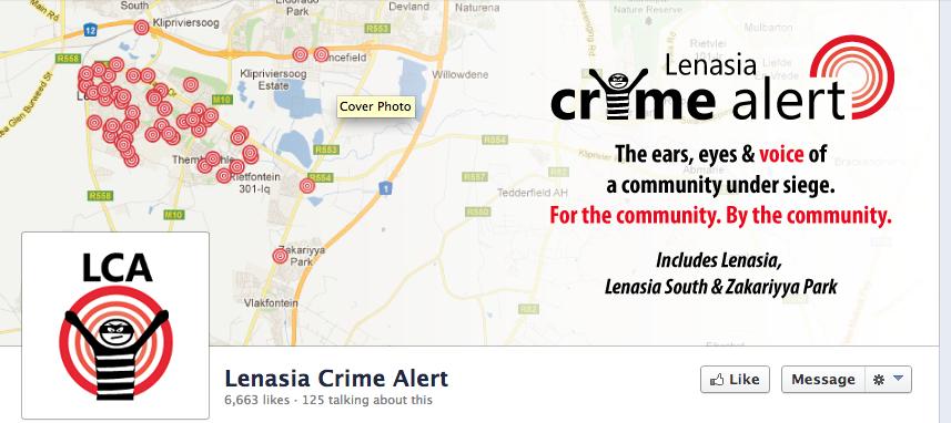 Lenasia Crime Alert