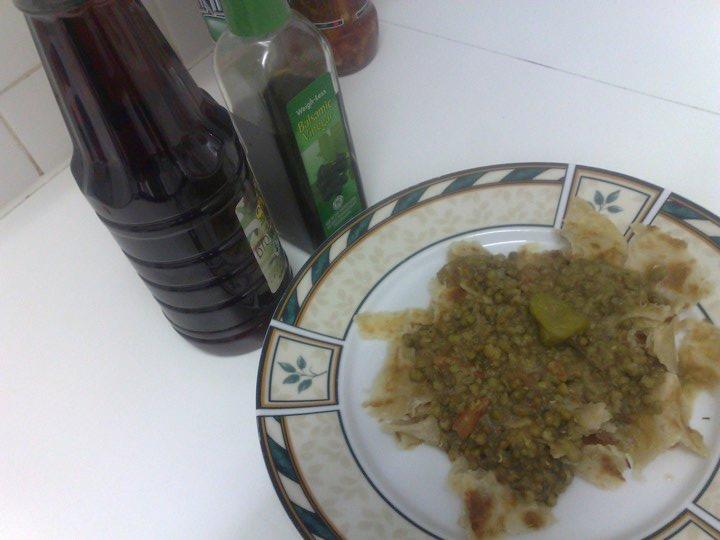 mugh and roti recipe