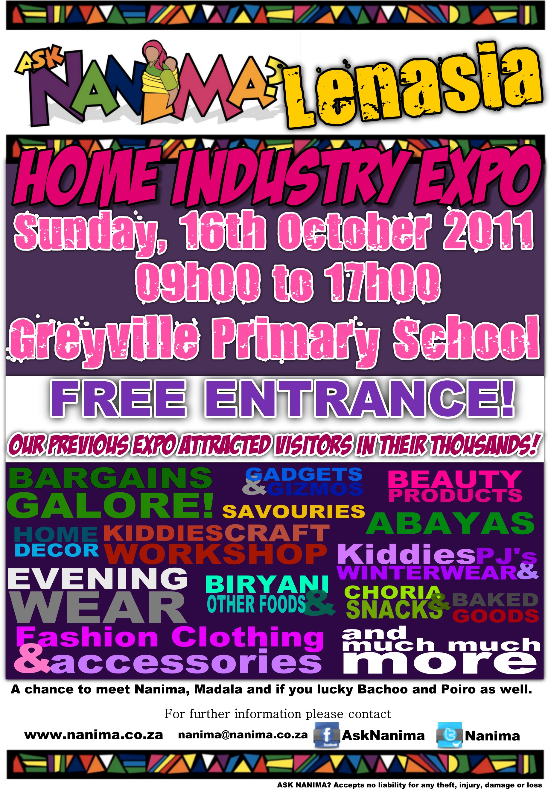 Ask Nanima Home Industry Expo Lenasia
