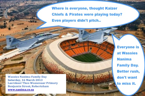 wassies soccer city