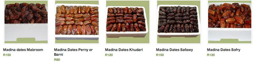 madina dates nanima range