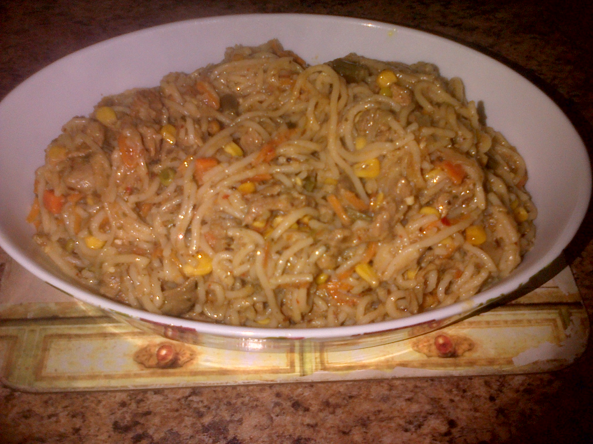 Najiya steak chowmein
