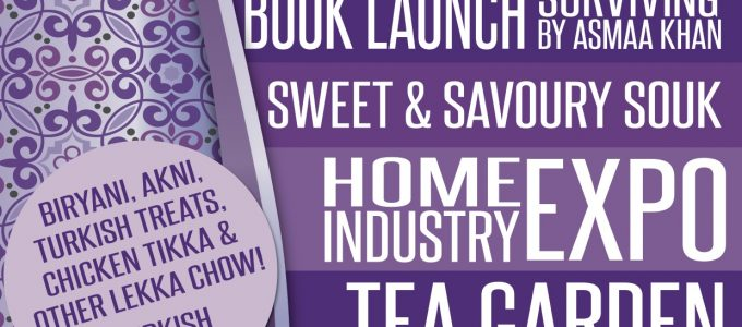 Nizamiye: AskNanima Purple Heart ChariTea and Home Industry Expo