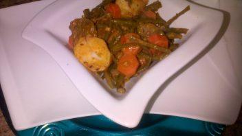 Green beans  By Najiya