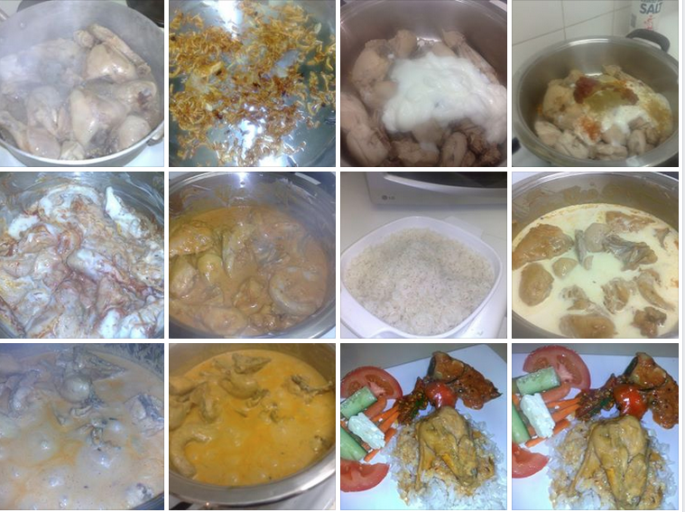 step by step butter chicken