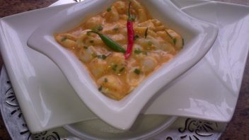 Butter chicken Pasta by Najiya