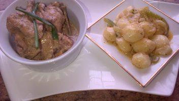 Sour Cream Chicken with Sour Cream Potatoes by Najiya