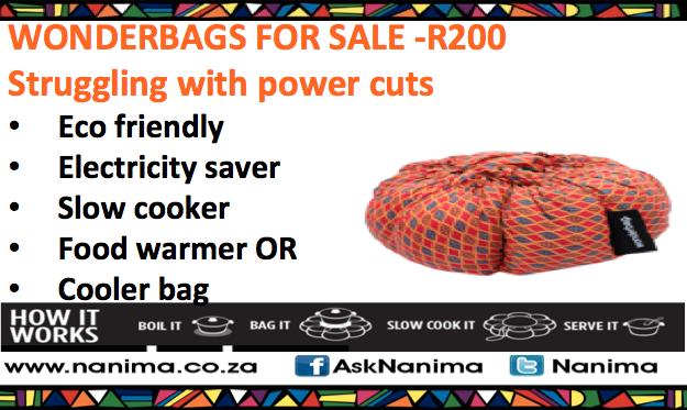 Wonderbag advert