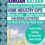 Nizamiye Jumuah Bazaar – 16 June 2017