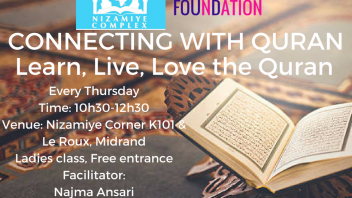 Connect with the Quran Classes – Nizamiye