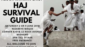 Haj Survival Guide Workshop