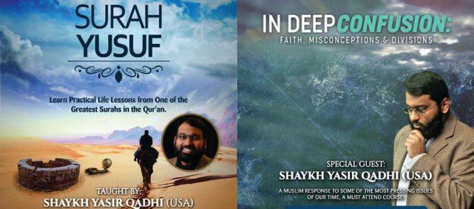 Yasir Qadhi Joburg Giveaway