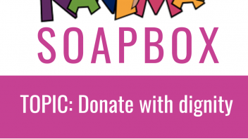 Nanima Soapbox – Donate with dignity