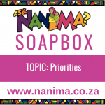 Nanima Soapbox – Priorities