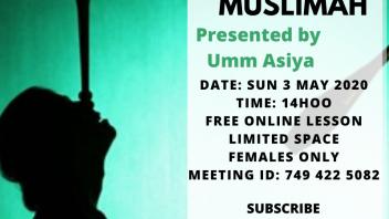 Juggling Muslimah