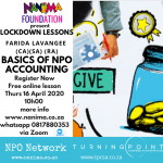 Lockdown Lessons: Basics of NPO Accounting
