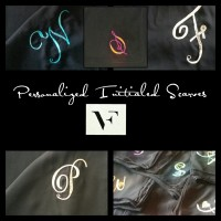 Personalized Initialied Scarves